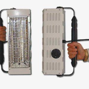 Lampada manuale a raggi infrarossi Monaldi